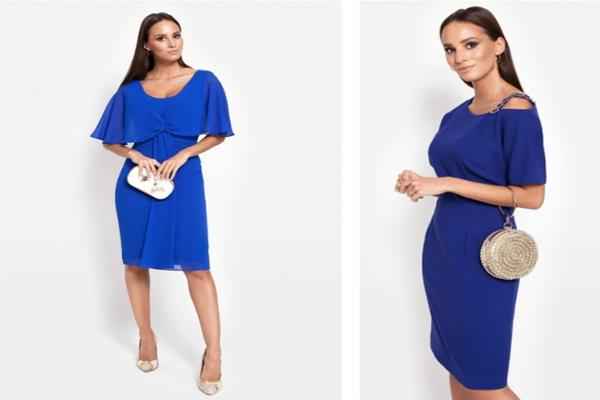 Jakie kolory dodatków do niebieskiej sukienki?
